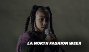 North West vole la vedette à la Fashion Week à Paris