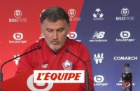 Galtier : «Aller chercher de la motivation» - Foot - L1 - Lille
