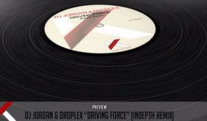 Dj Jordan, Droplex - Driving Force (Indepth Remix) - Official Preview (Autektone Dark)