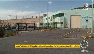 Coronavirus : la tension monte dans les prisons en France
