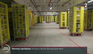 Confinement : Amazon ferme temporairement ses dépôts en France