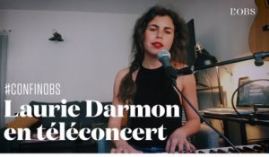 "Téléconcert : Laurie Darmon chante ""I will Survive"" de Gloria Gaynor en version Régine"