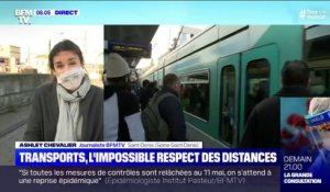 Coronavirus: l'impossible respect de la distanciation sociale dans les transports en commun
