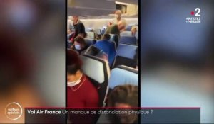 Coronavirus : Air France respecte-t-elle les mesures de distanciation sociale ?