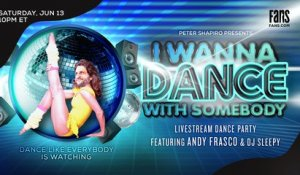 I Wanna Dance With Somebody Dance Party ft. Andy Frasco | FANS