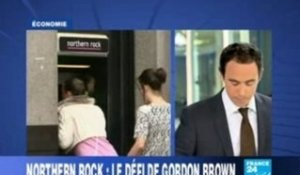 Northern Rock nationalisé-France24
