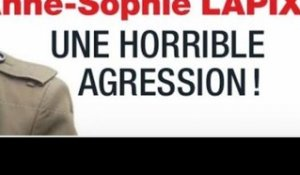 Anne-Sophie Lapix, le choc, une horrible agression