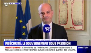 "Jean-Michel Blanquer: ""On doit être intraitables"" face aux trafiquants de drogue"