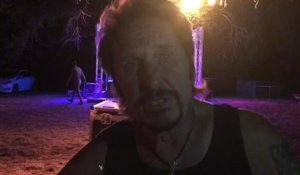 Johnny Cadillac, le sosie de Johnny Hallyday au MBeach