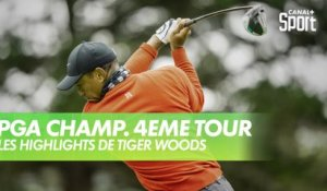 Golf - USPGA / Dernier tour : Les highlights de Tiger Woods