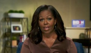"Michelle Obama déplore le ""manque total d'empathie"" de Donald Trump"