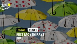 #TDF2020 - Stage 1: Nice Moyen Pays / Nice - Teaser