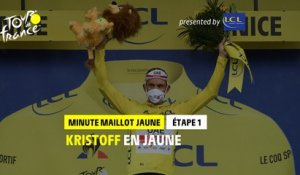 #TDF2020 - Étape 1 / Stage 1 - LCL Yellow Jersey Minute / Minute Maillot Jaune