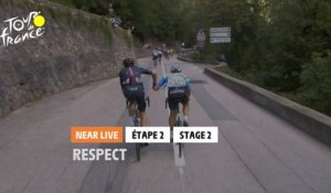 #TDF2020 - Étape 2 / Stage 2 - Respect