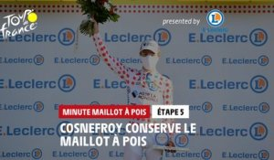 #TDF2020 - Étape 5 / Stage 5 - E.Leclerc Polka Dot Jersey Minute / Minute Maillot à Pois
