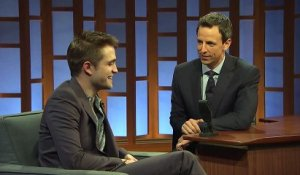 Robert Pattinson Really Wants a Baby Brother - Late Night with Seth Meyers