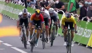 Cycling - Tour de France 2020 - Tadej Pogacar wins stage 9, Primoz Roglic takes the yellow jersey
