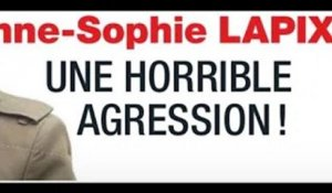 Anne-Sophie Lapix,  horrible  agression, revanche #8211; Coup de main drsquo;un ministre (photo)