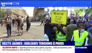 Gilets jaunes: quelques tensions à Paris - 12/09