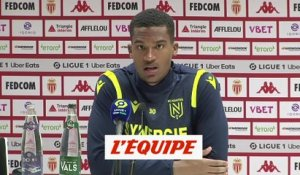 Lafont : « On a eu des occasions » - Foot - L1 - Nantes