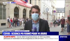 Covid-19: Sciences Po Paris va fermer son campus pendant 14 jours