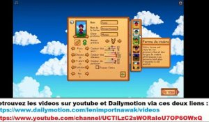 Moment detente avec STARDEW VALLEY !!!! (20/09/2020 15:11)