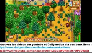 Moment detente avec STARDEW VALLEY !!!! (20/09/2020 15:22)