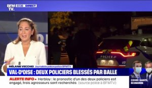 Ce que l'on sait de l'agression de deux policiers à Herblay