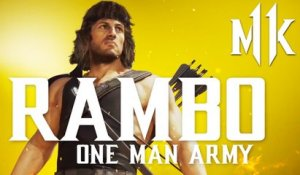 Mortal Kombat 11 Ultimate - Official Meet Rambo Gameplay Trailer