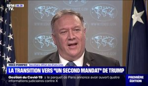 "Mike Pompeo promet une ""transition en douceur"" vers un... ""second mandat"" de Donald Trump"