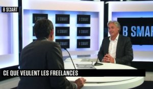 "BE SMART - L'interview ""Action"" de Laurent Levy (Freelance.com) par Stéphane Soumier"