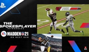 Madden NFL 21 – Next Gen Heat: The Spokesplayer | PS5