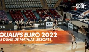 Le dunk de Mathias Lessort