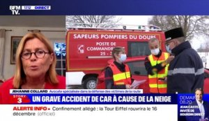 Story 1 : Un grave accident de car à cause de la neige - 01/12
