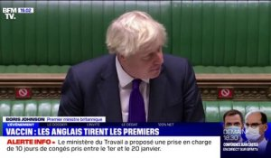 "Covid-19: Boris Johnson salue la ""fantastique nouvelle"" de l'autorisation du vaccin de Pfizer au Royaume-Uni"