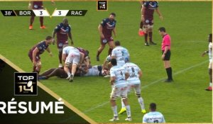 TOP 14 - Résumé Union Bordeaux-Bègles-Racing 92: 12-17 - J11 - Saison 2020/2021