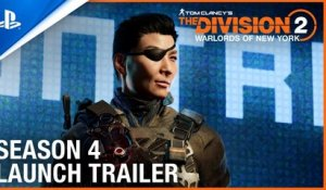 Tom Clancy's The Division 2: Warlords of New York - Season Four Trailer | PS4