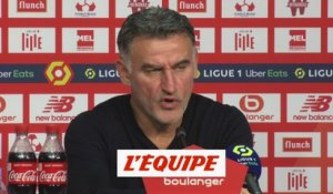 Galtier : «On a manqué de justesse» - Foot - L1 - Lille