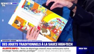 Des jouets traditionnels à la sauce high-tech - 14/12