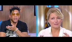 JoeyStarr dézingue Anne-Elisabeth Lemoine en direct.