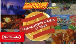 Nintendo Switch Fan-Favorite Games of 2020 Revealed! | Nintendo Power Podcast