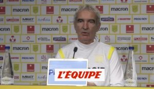 Blas incertain contre Rennes - Foot - L1 - Nantes