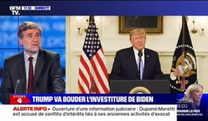 Story 2 : Donald Trump va bouder l'investiture de Joe Biden - 08/01