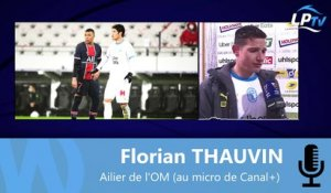 "Thauvin : ""On progresse contre le PSG..."""
