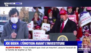Joe Biden: L'émotion avant l'investiture – 19/01