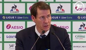 ASSE-OL : la satisfaction de Rudi Garcia