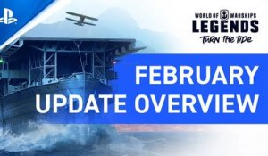 World of Warships: Legends – February Update Overview | PS4
