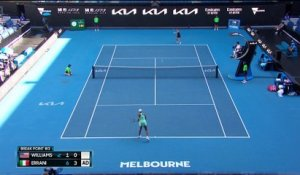 Highlights | Venus Williams - Sara Errani
