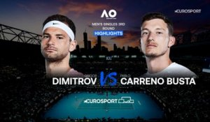 Highlights | Grigor Dimitrov - Pablo Carreno Busta