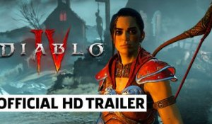Diablo IV Rogue Reveal Trailer | BlizzCon 2021